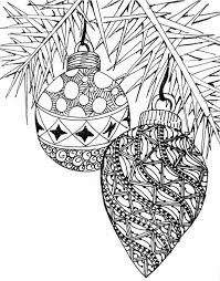 coloring pages free print christmas balls