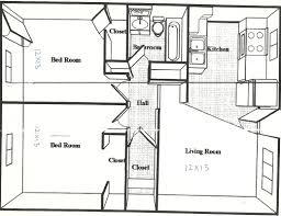 attractive design 11 500 square foot floor plans feet 2 bedroom
