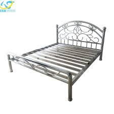 Steel Bed Frame For Sale Stainless Steel Bed Frame Modern Style Best Designer Stainless