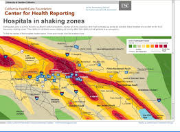 California Fault Map Delays In Making Hospitals Earthquake Safe Reporting From