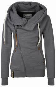 lovable fashion beautiful grey womens hoodie i want this please