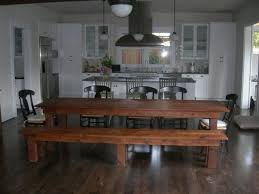 Small Kitchen Table And Bench Set - kitchen round glass dining table round kitchen table and chairs