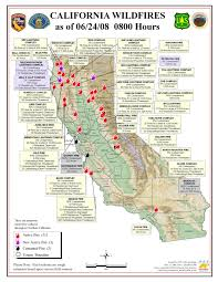 Map Of The Coast Of California Map Of Fire California You Can See A Map Of Many Places On The