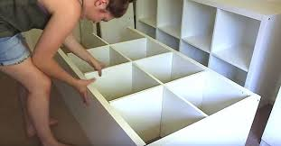 kallax ideas creative ideas diy raised bed from ikea kallax shelves i