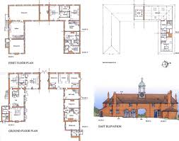 Stable Floor Plans Moor Place Much Hadham Ian Abrams Architect