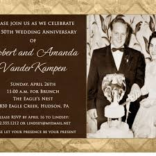 50th wedding anniversary invitation wording theruntime