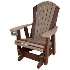 Glider Chair Qw Amish Adirondack Glider Quality Woods Furniture