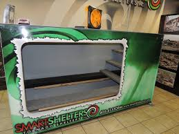 smart shelters large garage storm shelters serving ok and tx