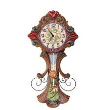 amazon com jim shore heartwood creek grandfather clock