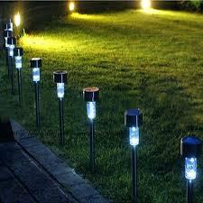 Solar Powered Outdoor Light Fixtures Solar Powered Landscape Spotlights Solar Landscape Lighting Solar
