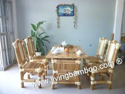 Bamboo Dining Table Set Bamboo Dining Chairs Bamboo Dining Room Dining Table Set
