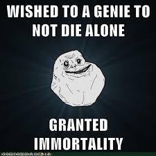Forever Alone Guy Meme - bad luck forever alone guy guy humor and memes
