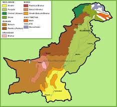 Ethnic Map Of Los Angeles by Map Of Ethnic Groups In Pakistan