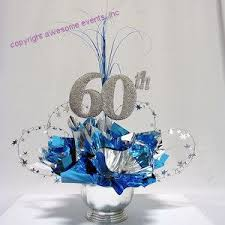 60th birthday centerpieces for tables 60th milestone centerpiece birthday party table decorations