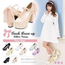 ribbon heels dreamv rakuten global market walkable be stripped of high