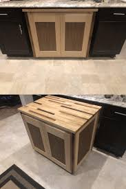 how do you fill the gap between kitchen cabinets and ceiling we had a goofy gap between our cabinets in the kitchen