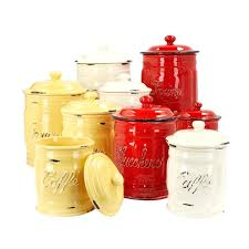 colorful kitchen canisters lifeyles colorful kitchen canisters colored canister set