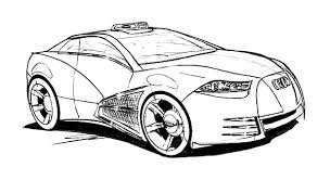 police audi cars coloring pages bulk color