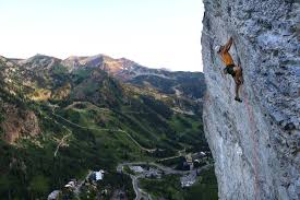 rock climbing routes u0026 photos in little cottonwood canyon wasatch