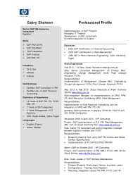 Sample Resume For Sap Sd Consultant by Senior Sap Consultant C V Resume
