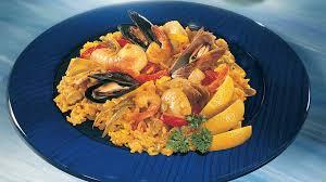 cuisiner une paella paella aux fruits de mer recettes iga riz pétoncles recette facile
