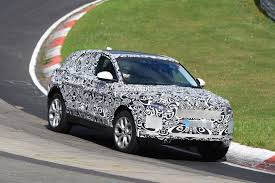 new jaguar e pace baby suv hits nurburgring looks gorgeous even