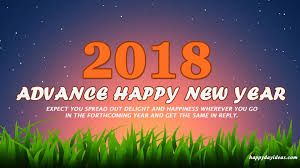 advance happy new year 2018 wallpaper image wishes quotes