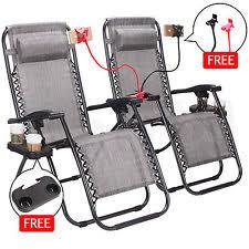 Xl Gravity Free Recliner Zero Gravity Chair Ebay
