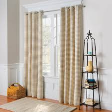 Curtain Pair Gingham Check Thermal Curtain Pair Improvements