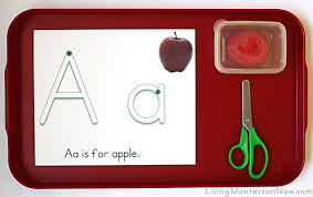 montessori monday free apple printables and montessori inspired
