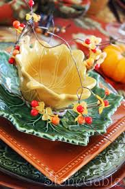 Fall Table Settings by Fall Brunch Tablescape Stonegable