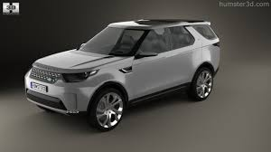 land rover white 2014 360 view of land rover discovery vision 2014 3d model hum3d store
