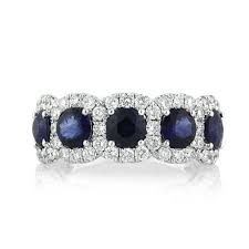 right ring 4 01ct cut sapphire and diamond right ring