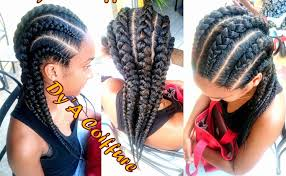 straight back hairstyle how to 6 straight back feed in cornrows from different angles