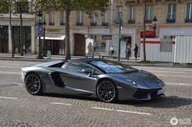 Lamborghini Aventador Chrome - lamborghini aventador lp700 4 roadster 27 september 2017