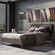 King Bed Platform Frame Best 25 Midcentury Panel Beds Ideas On Pinterest Always Ultra