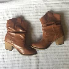 light colored cowgirl boots wet seal shoes light brown lowrise cowboy boots poshmark