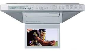 Kitchen Cd Player Under Cabinet by Sony Icf Cd555tv Under Cabinet Kitchen Lcd Tv With Cd Player At
