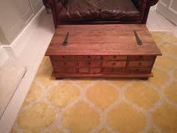 apothecary style coffee table home table decoration