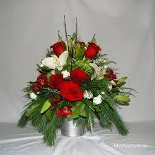 christmas floral arrangements paradise floral studio christmas flower arrangements