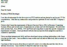 cover letter for web designer cover letter for t cover letter web