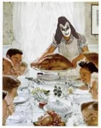 happy thanksgiving rock and roll hell