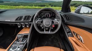 Audi R8 Interior - audi r8 spyder v10 plus 2017 review by car magazine