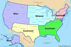 geography for united states