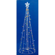 Outdoor Christmas Decor Walmart by 5 U0027 Multi Color Led Lighted Multi Function Outdoor Christmas Tree