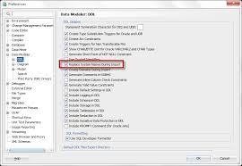 tutorial oracle data modeler how to preserve system generated constraint names in oracle sql