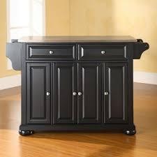 black island kitchen black kitchen islands carts you ll wayfair