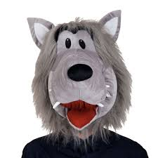 Wolf Mask Animal Wolf Mask For Adults Mh12813 Wolf Animal Mascot Head