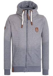 naketano raketa in hose hoodie met rits voor heren blauw