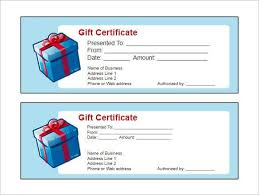 gift voucher template for word custom gift certificate templates